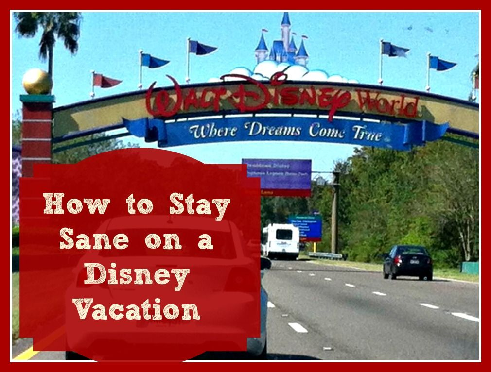 After all the planning that goes into a Disney vacation, after all the days of waiting to arrive, after all the hours of dreaming of your Disney adventure, the actual trip itself can be quite stressful if you don't have a plan to stay sane. Vacations should be fun, exciting, and relaxing. To ensure you don't lose your cool on your Disney vacation, here are my top tips for staying sane.