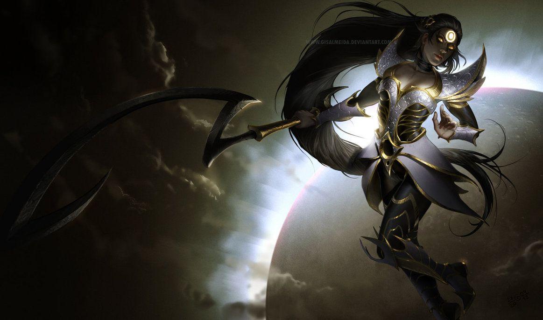 League Of Legends Eclipse Diana By Gisalmeida On Deviantart Riot