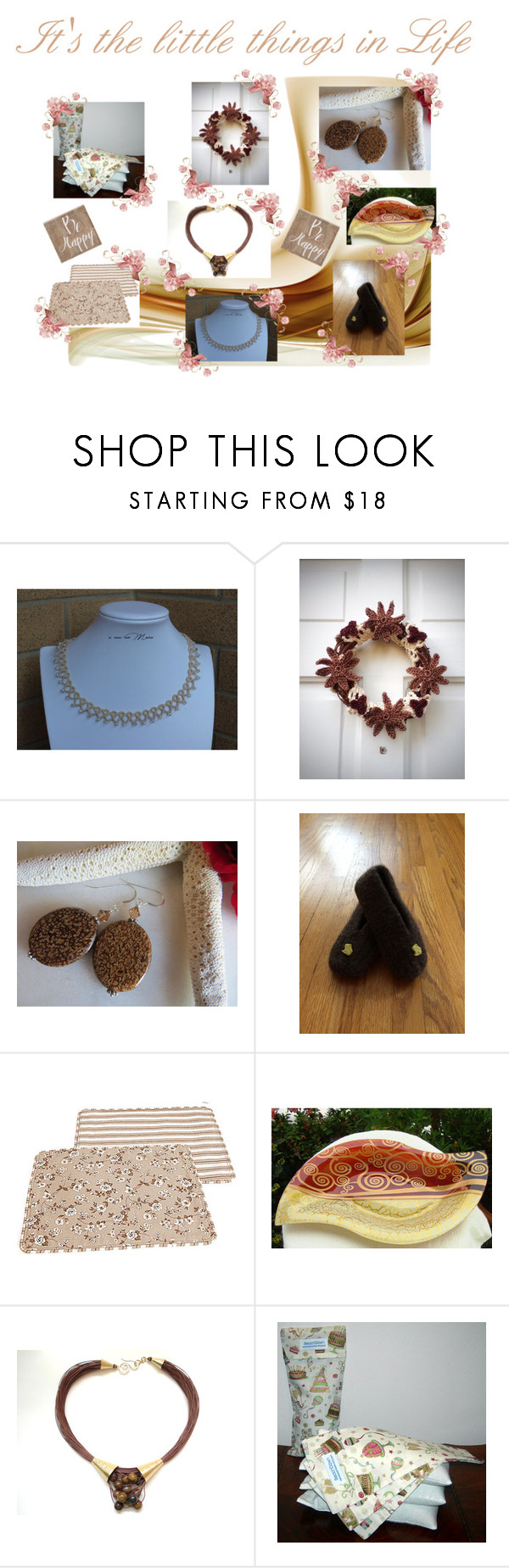 It's the little things in Life by cozeequilts on Polyvore featuring Belle Maison