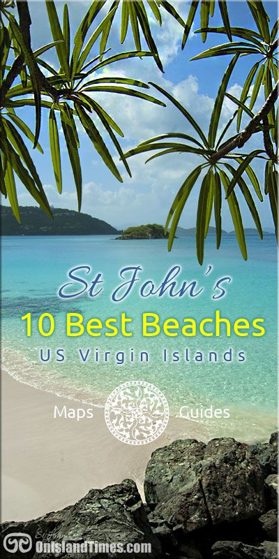 St John's Top Beaches ... getting to them, snorkeling info and travel guides.