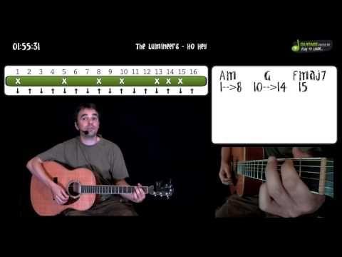 Apprendre à la guitare The Lumineers - Ho Hey - en 3 minutes