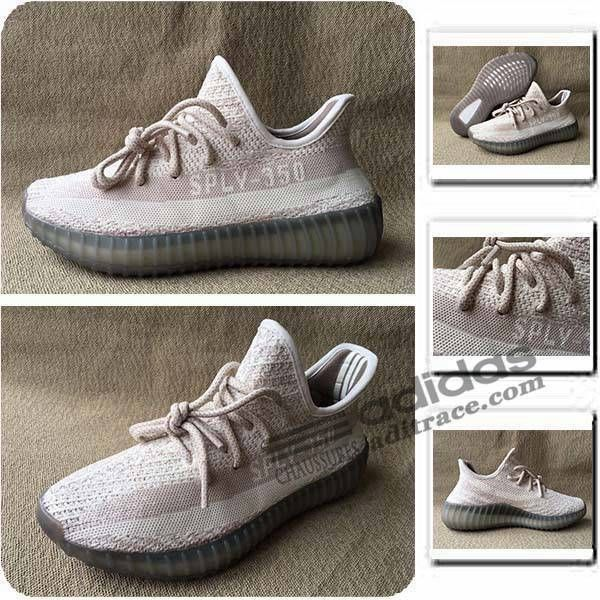 separation shoes 05f14 21743 ... uk adidas yeezy boost sply 350 v2 nouvelles chaussure homme rose blanche  aditrace 3cec2 66eb1