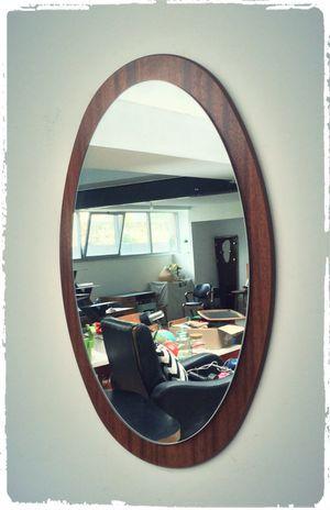 Miroir Vintage Scandinave Ovale