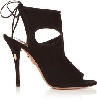 AQUAZZURA Sexy Thing suede sandals - $243.00