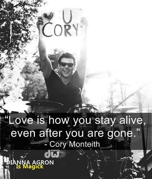 Photo of R.I.P Cory Monteith | via Tumblr on We Heart It