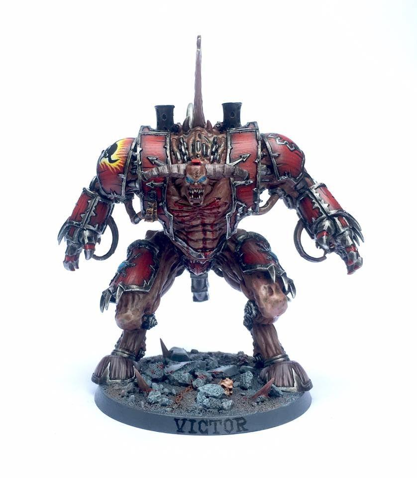 Warhammer 40k Chaos Space Marines: Hellbrute Conversion