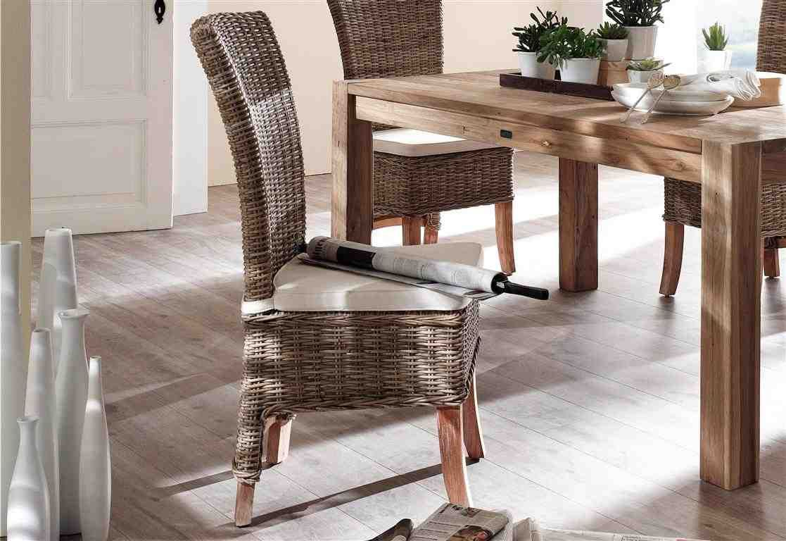 Wicker Dining Chairs, Wicker Dining Room Chair Cushions