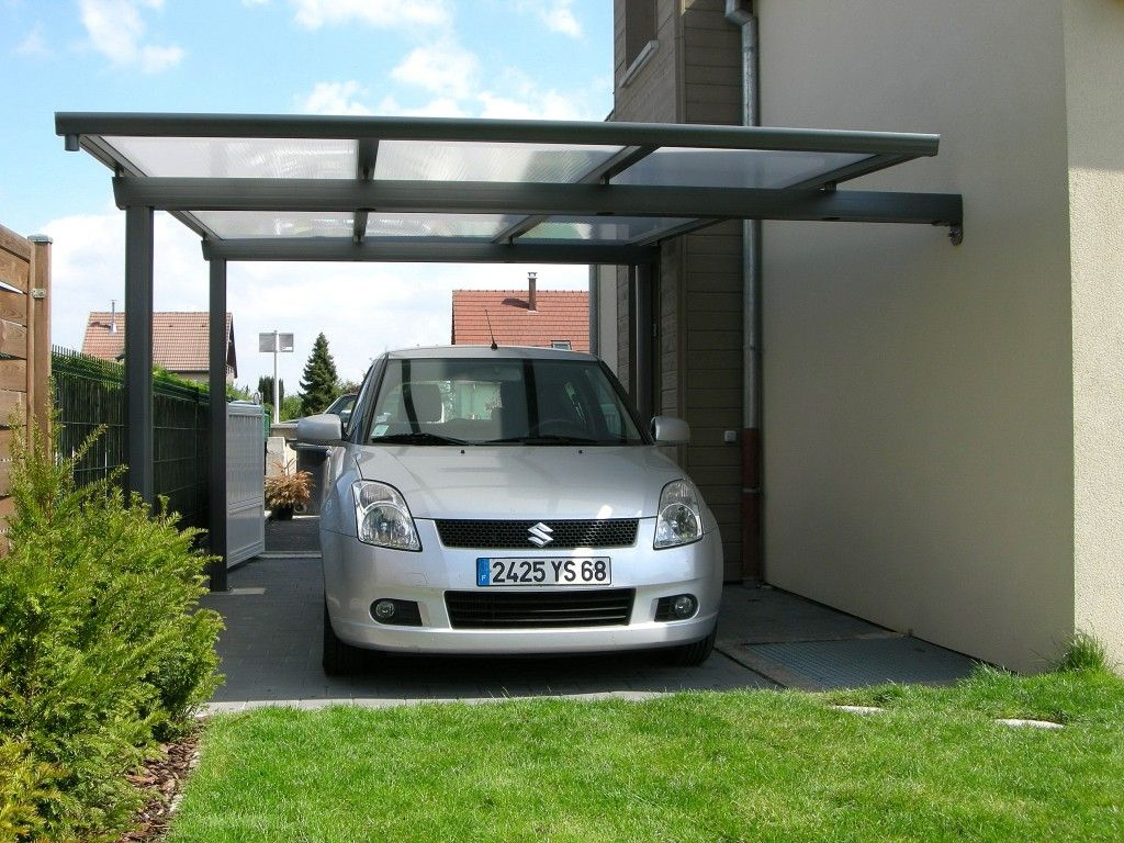 carport alu alsace carport pinterest abri voiture refuges et garage bois toit plat. Black Bedroom Furniture Sets. Home Design Ideas