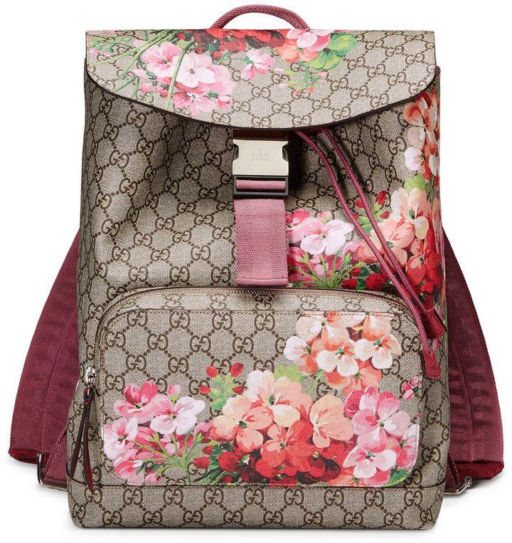 03f4acd63a0b76 Gucci Gg Blooms Backpack #fashion #pandafashion #backpack #gucci