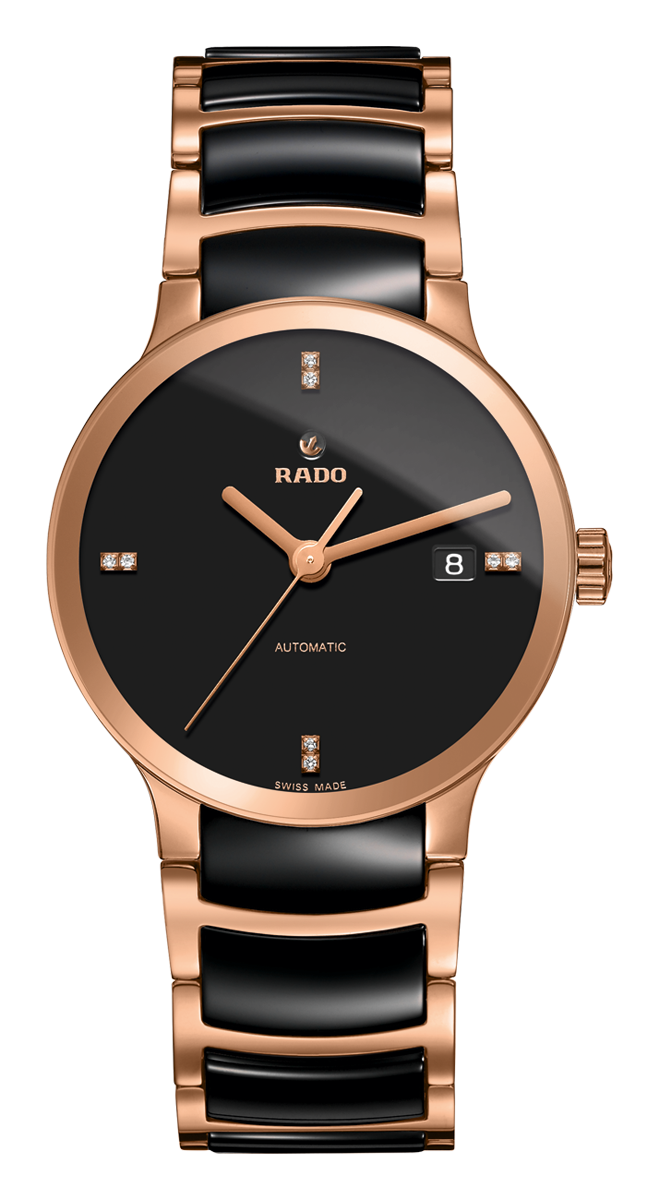 dealer gold high made authorized open watches heart rose in watch pvd automatic rado ceramic diamond tech centrix switzerland pin chocolate