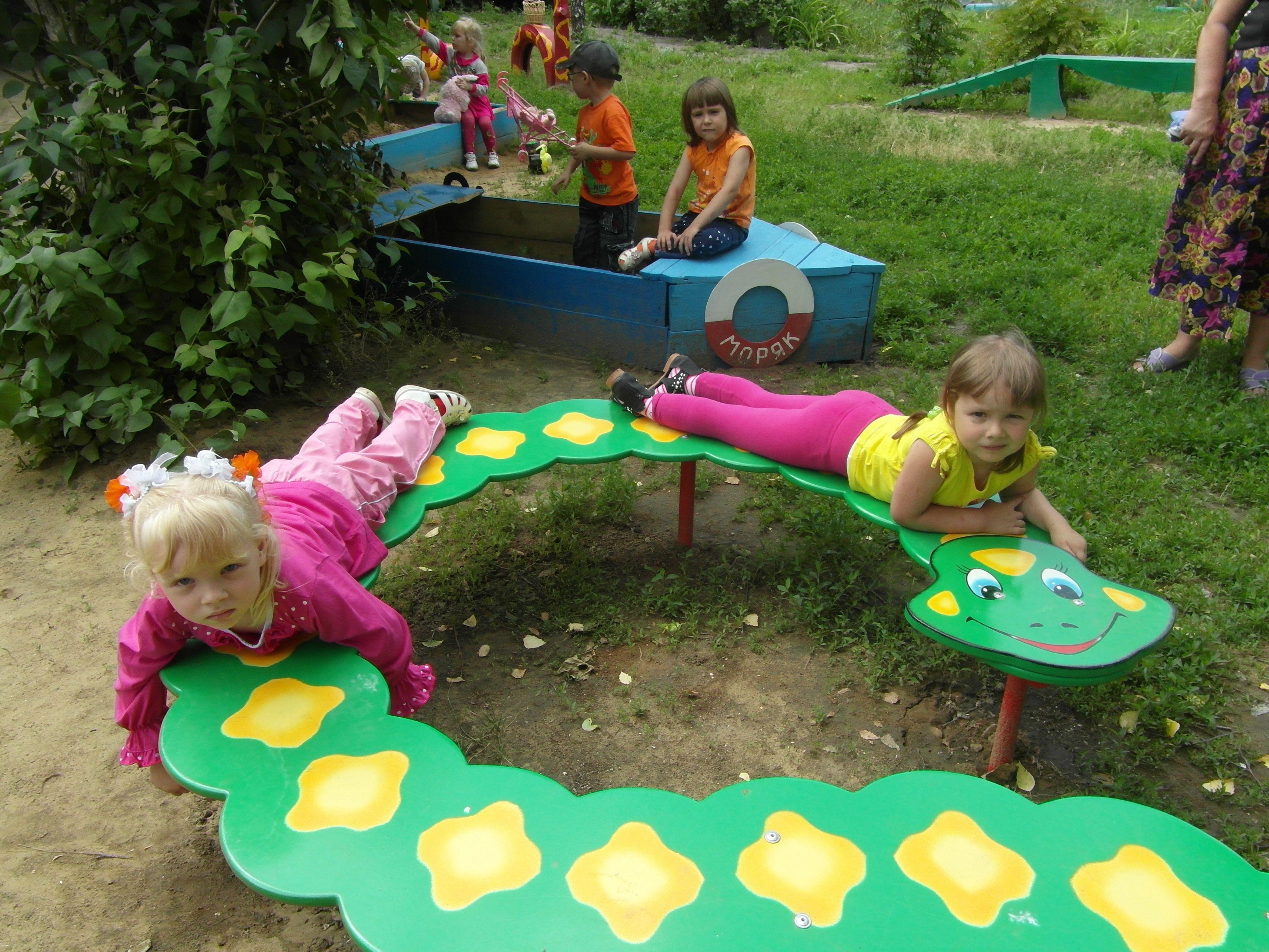 Как украсить площадку в детском саду летом фото 90