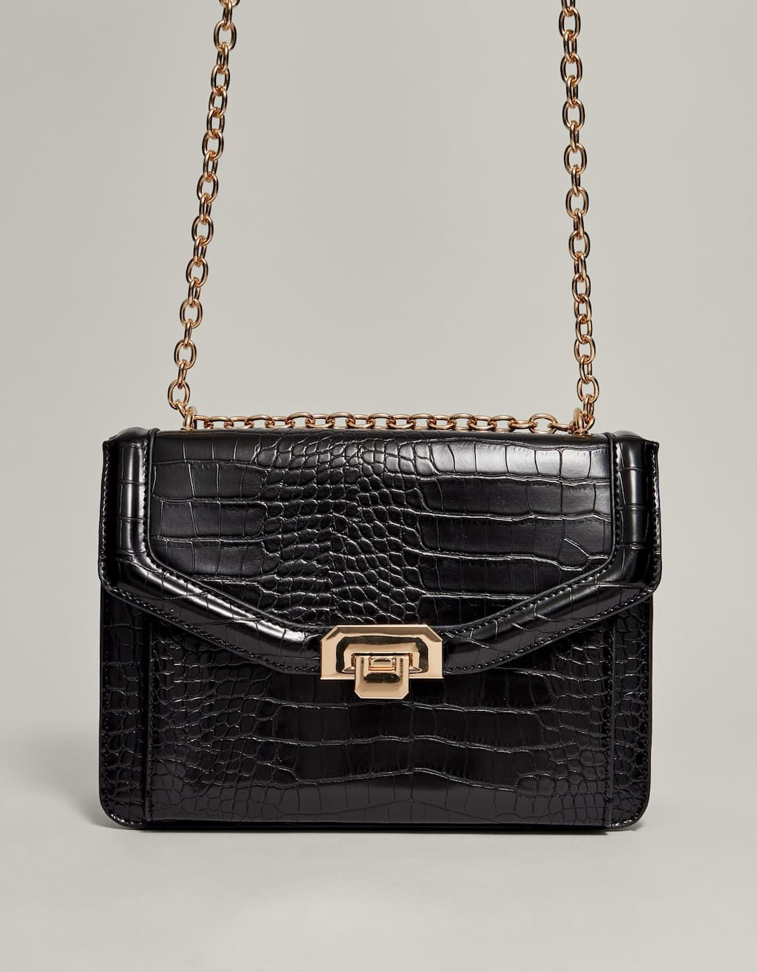 08ec5578453f Mock croc crossbody bag - Just In | Stradivarius United Kingdom