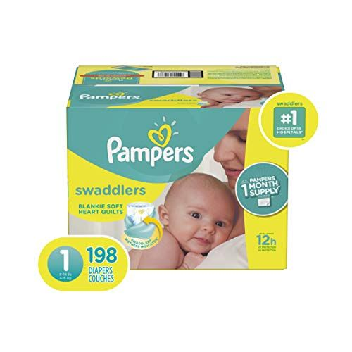 Size 3 Huggies Little Snugglers Baby Diapers 156 Count