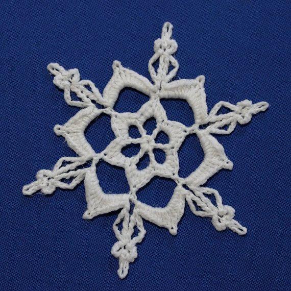 Crochet Snowflake | Příze | Pinterest | Schneeflocken, gehäkelte ...