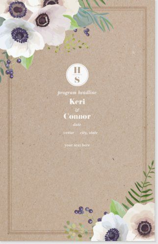 Affordable Wedding Programs Custom Page 5