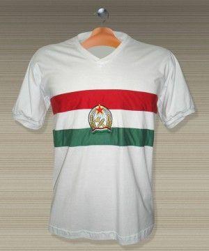 2e33cf6855 Camisa Retrô Hungria - 1954 - Puskas - Reserva