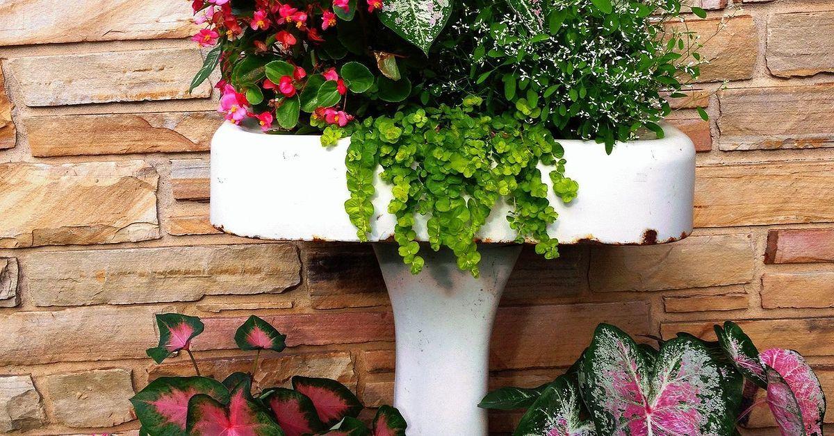 Yard Art From Junk Repurposing Garden Decorations