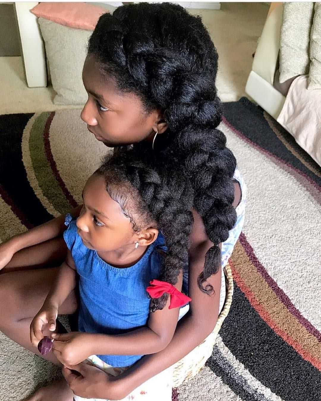 Pin by Spider Gold on L O V E. Kids hairstyles, Natural