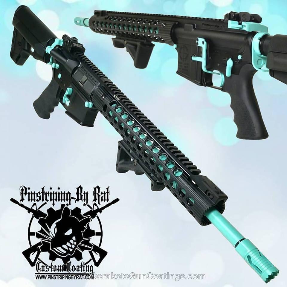 Cerakote Cerakoted Robin S Egg Blue Guns Guns Tactical