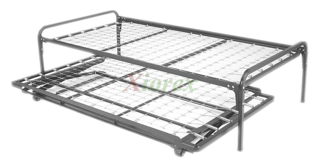 Hi Riser Bed With Metal Frame | Bed Frames Ideas | Pinterest ...