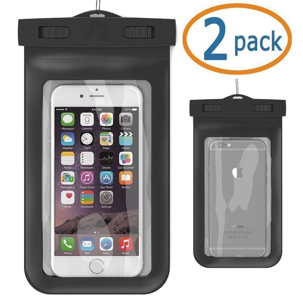 5e570834993 Capa case a prova d'agua para iPhone 6s Plus, 6s, 6 Plus, 6, 5 ...