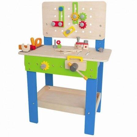 jeu jouet enfant gar on 8 ans et plus etabli bricolage. Black Bedroom Furniture Sets. Home Design Ideas