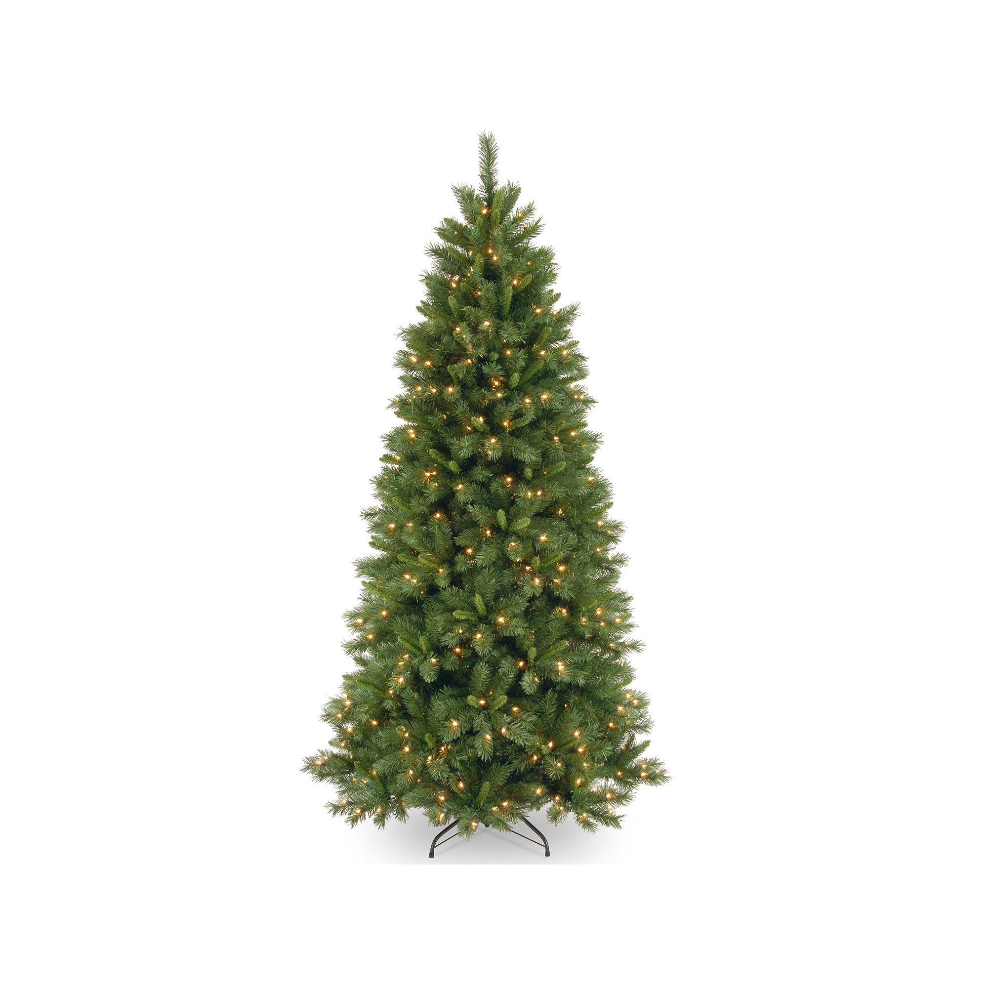 7.5-ft. Pre-Lit Dual LED Lehigh Valley Pine Artificial Christmas ...