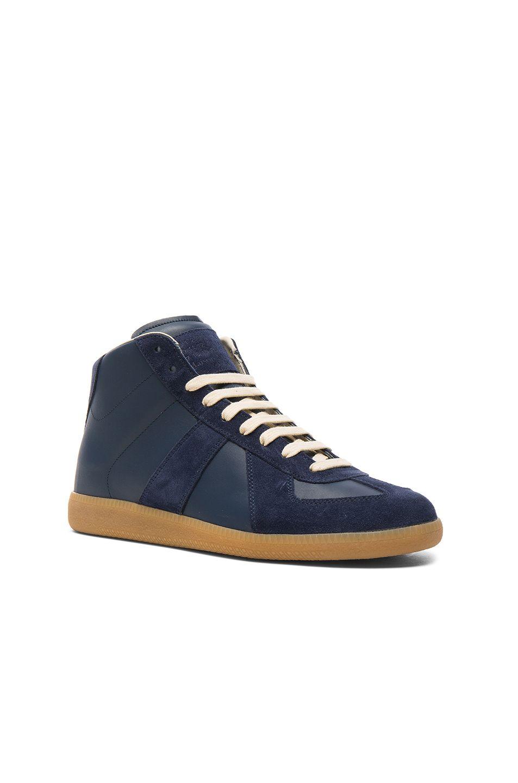 Replica Rubber And Mesh Sneakers - BlackMaison Martin Margiela 2YP5rdOoMy