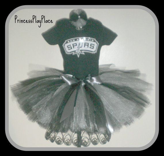 San Antonio Spurs inspired Tutu Girl Basketball Cheerleader Costume Newborn 0 3 6 9 12 18 Months 2T 3T 4T 5T 6T 7T - Adult Nuggets Costume & San Antonio Spurs inspired Tutu Girl Basketball Cheerleader Costume ...