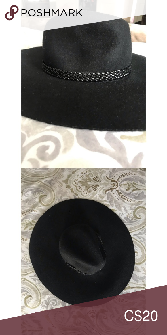 NWOT Floppy Black H&M Hat 🖤