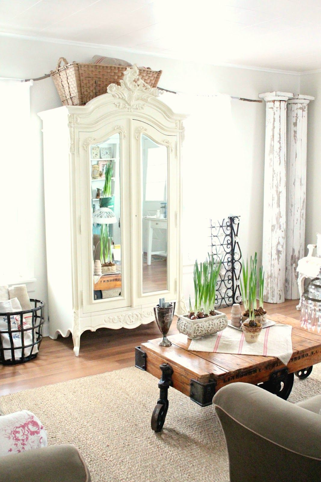 A Fresh New Look | Armoires, French armoire and Armoire wardrobe