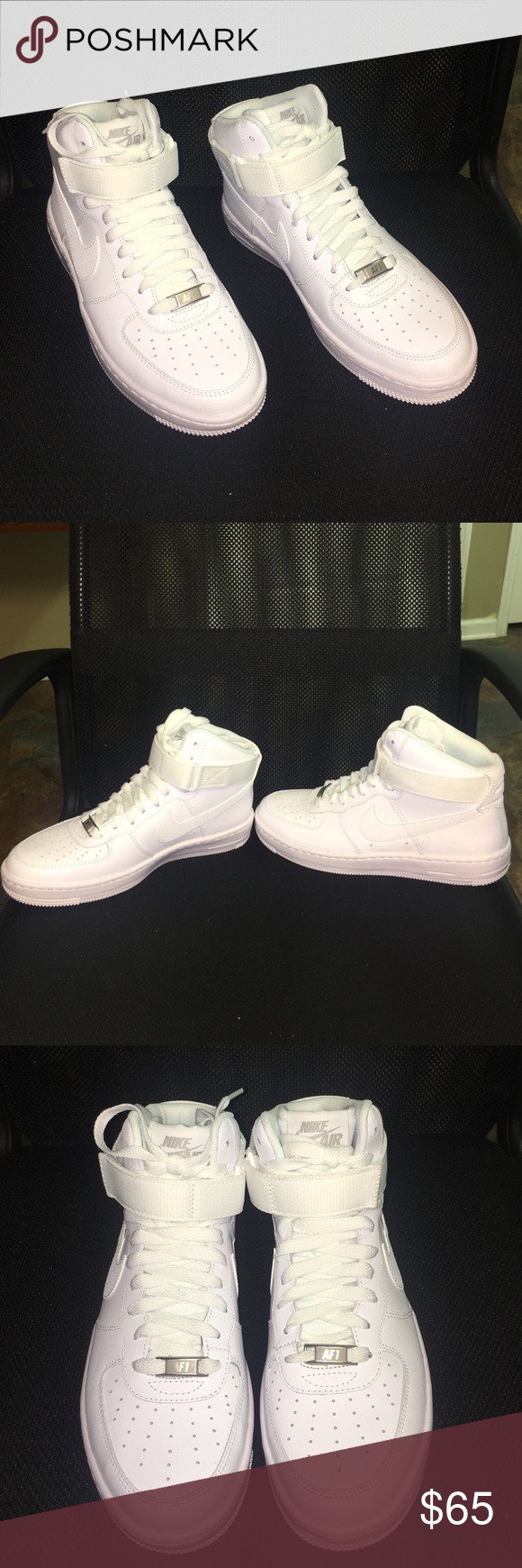 Nike Air Force 1 shoes!!! Brand new never worn Nike Air Force 1 tennis shoes! Nike Shoes