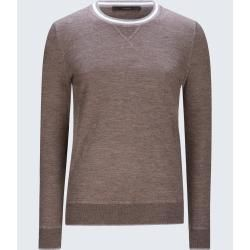 Photo of Pullover Ciro in Taupe-Grau windsor
