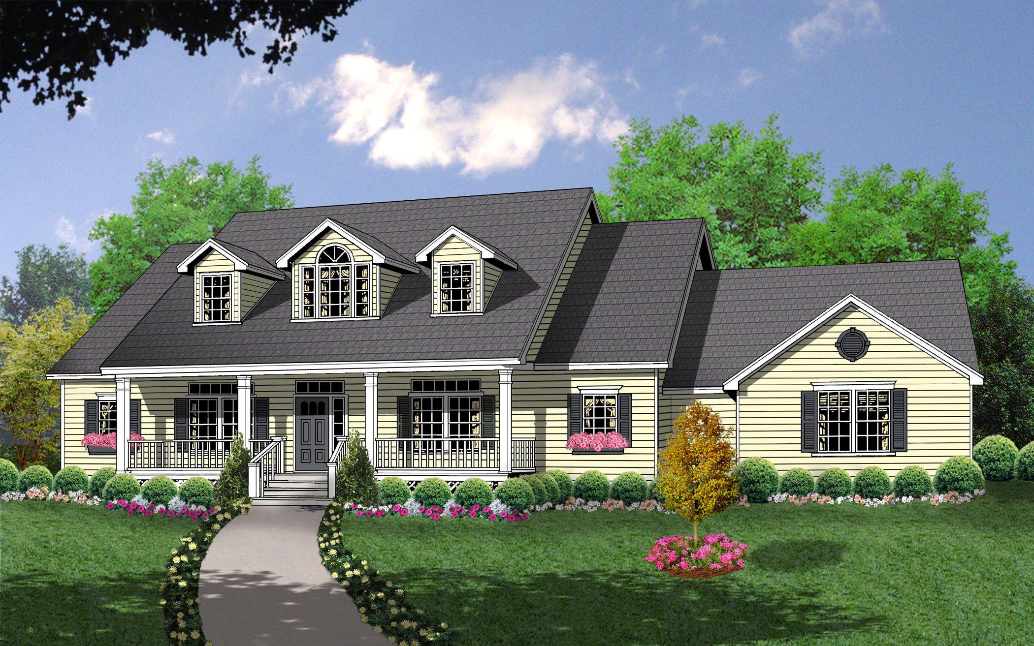 Plan 7423rd Bonus Space Over Side Entry Garage In 2021 Country Style House Plans Country House Plans House Plans Farmhouse
