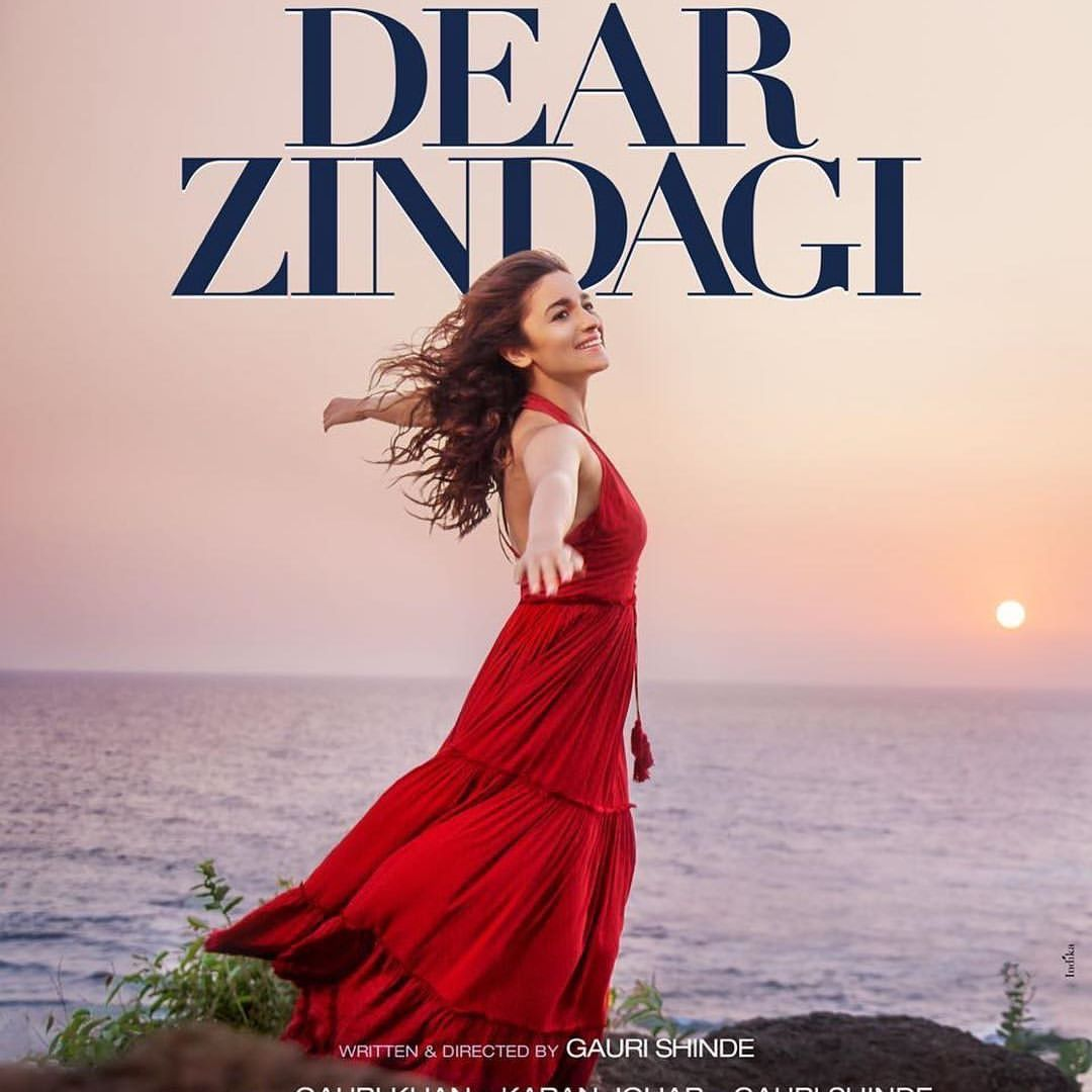 Alia Bhatt for Dear Zindagi poster   Dear zindagi, Alia bhatt