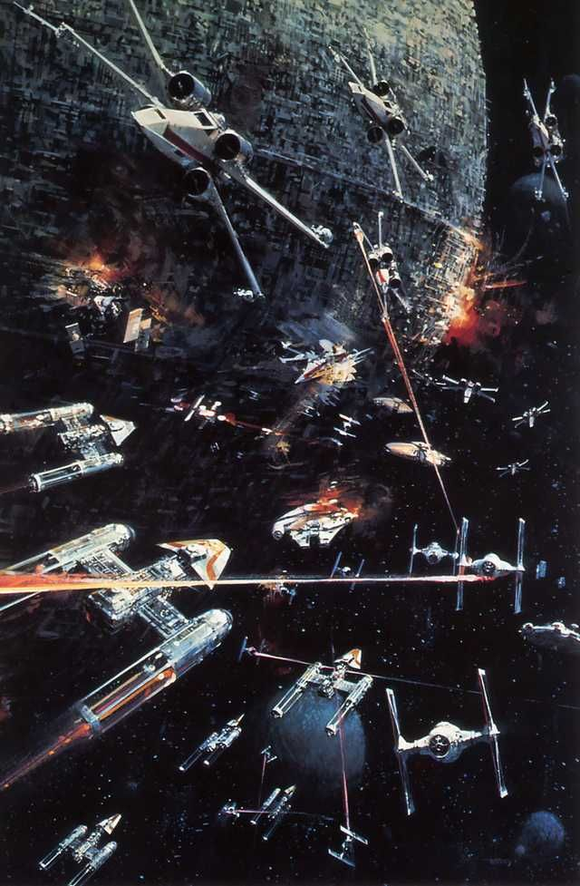 I love the original star wars concept art. Its amazing