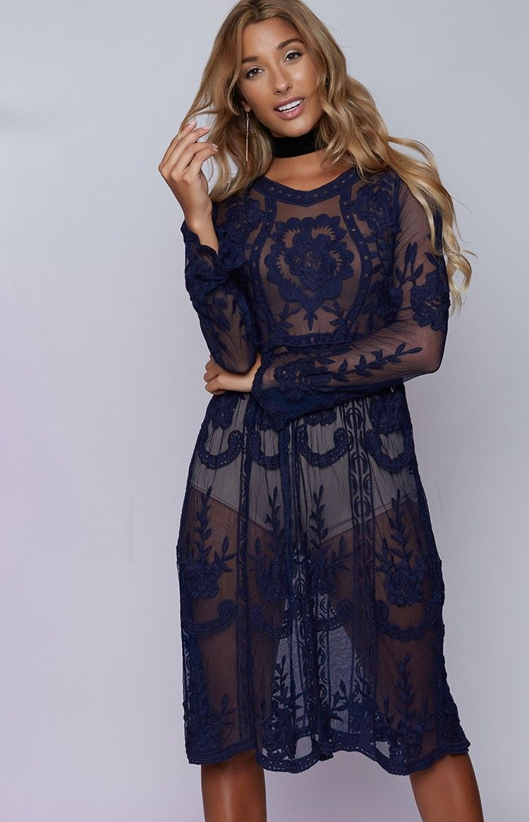 Lace dress navy  Florence Lace Dress Navy  Lace Boutiques and Dresses