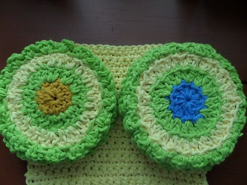 I love crocheting coasters.