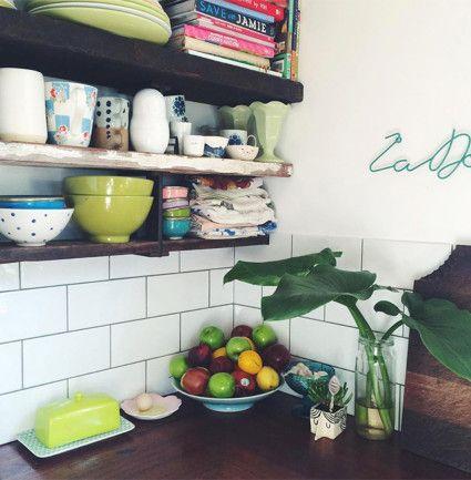 kitchen bench styling