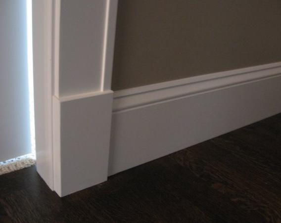 Craftsman Style Homes Interior Trim Google Search Baseboard