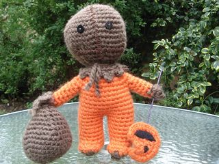 Sam from the horror movie Trick 'R Treat. Neat :)  - by Anna Novitzky