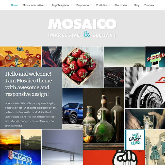 Mosaico – Unique Magazine WordPress theme | Premium WordPress Themes