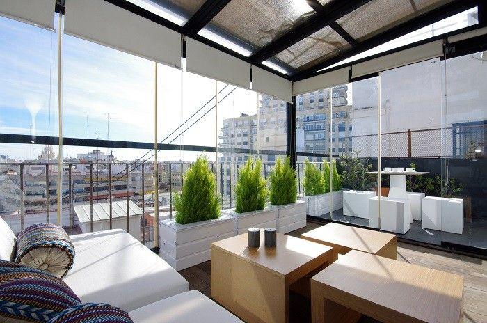 Terraza ático Ayuntamiento A Vlc Valencia Luxury ático