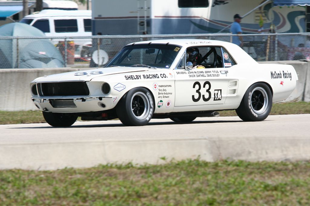 1967 Ford Shelby Mustang #33 Trans Am Series race car | Ford ...