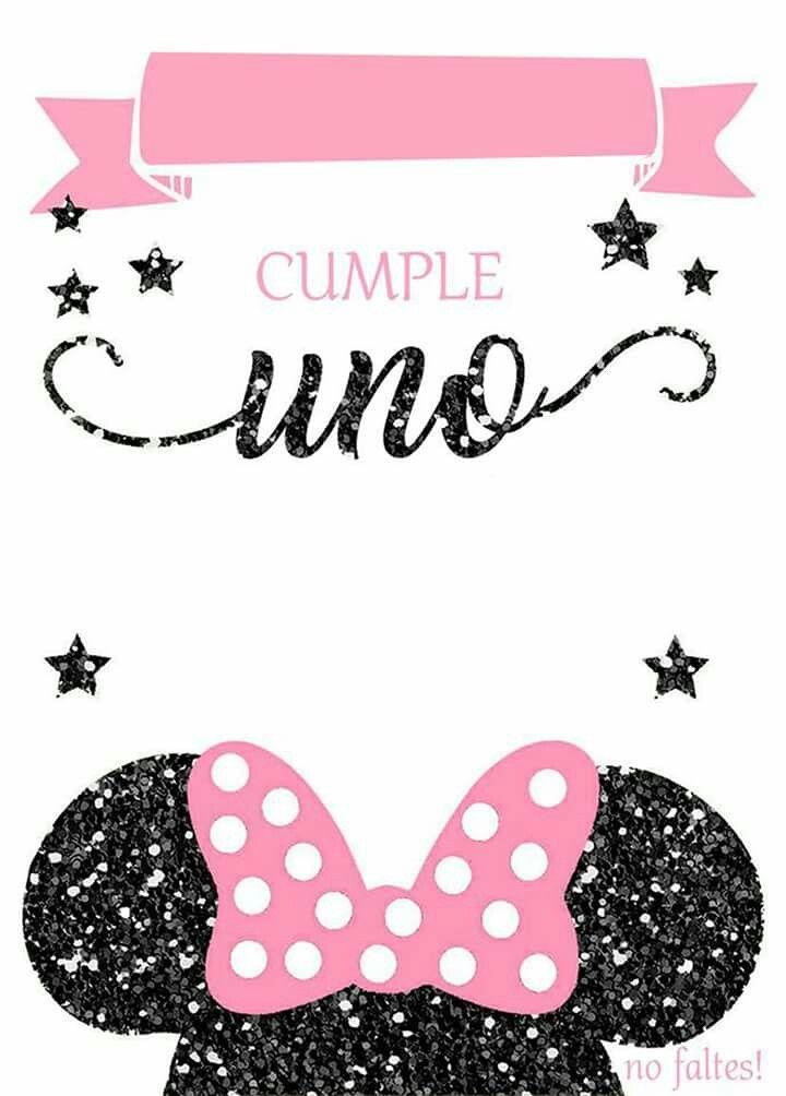 Pin En Hbd Minnie Y Mickey