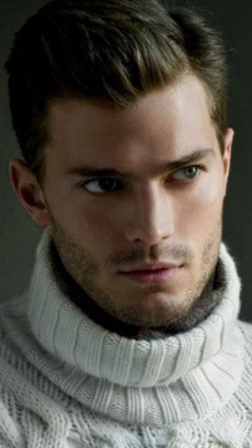 Jamie dornan models turtleneck