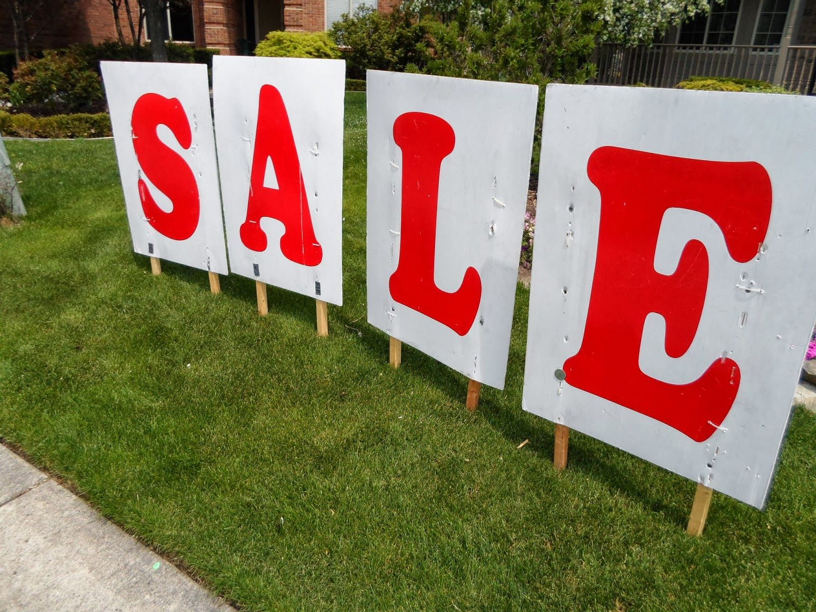 printable yard sale sign