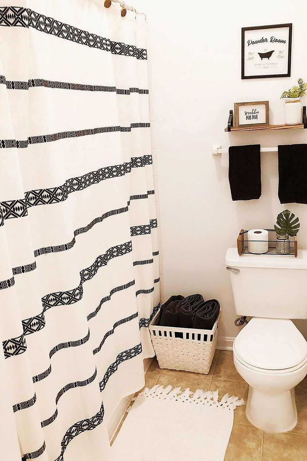 "Better Homes & Gardens 72"" x 72"" Tribal Chic Shower Curtain - Walmart.com"