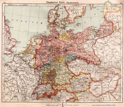 Map Of Germany Today.Map Of Germany From The Diercke Schulatlas Ed 62 By George