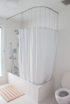 open shower curtains - Google Search & open shower curtains - Google Search | bath. | Pinterest | Open ...